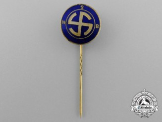 A National Socialist Movement in the Netherlands Membership Stick Pin