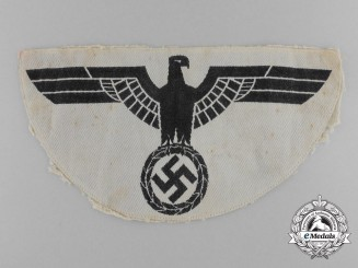 Germany, Wehrmacht. A Heer (Army) Sports Shirt Eagle Emblem