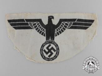 Germany, Wehrmacht. A Heer (Army) Sports Shirt Eagle Emblem