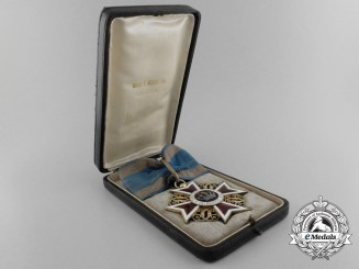 A 1881-1932 Romanian Order of the Crown; Commander's Cross