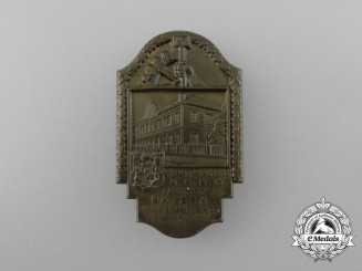 Germany, Third Reich. A 1933 Consecration of the Bavarian Grade School Badge by Deschler & Sohn