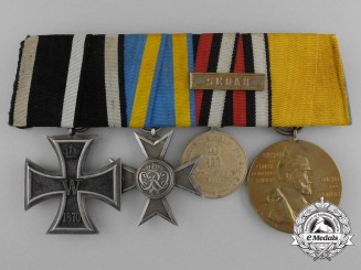 A Godet 1870 Iron Cross Medal Grouping