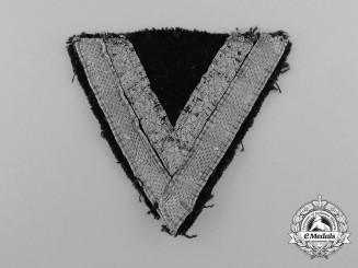 A Waffen-SS Rottenführer's Rank Chevron