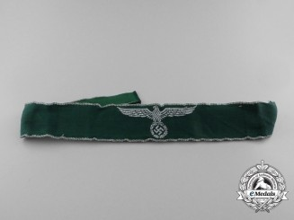 A Second War German Customs Service Official's Cuff Title