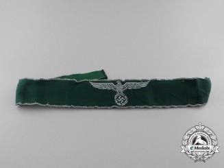 A Second War German Customs Service Official's Cuff Title