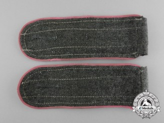 A Mint Matching Pair of Wehrmacht Panzer Enlisted Man's Shoulder Boards
