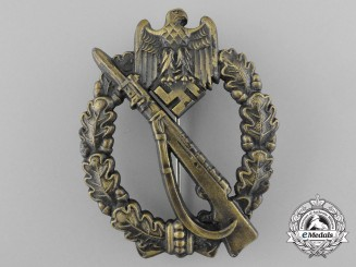 An Infantry Badge Bronze Grade by Josef Feix & Sohn