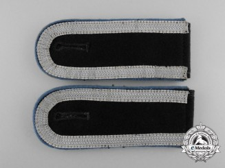 A Mint Matching Pair of Wehrmacht Transport Unit Unteroffizier's Shoulder Boards