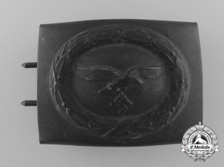 A 1940 Pattern Luftwaffe Enlisted Man's Belt Buckle by F. & Co.