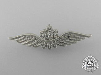 A Second War Norwegian Pilot's Wing