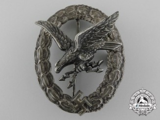 A Luftwaffe Radio Operator & Air Gunner Badge by Assmann
