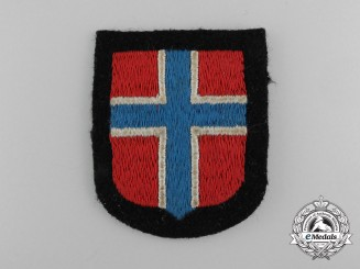 A Waffen-SS Norwegian Volunteer's Sleeve Shield/Insignia