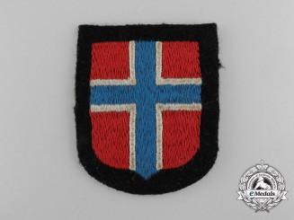 A Waffen-SS Norwegian Volunteer's Sleeve Shield/Insignia