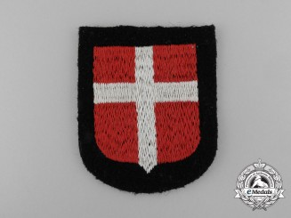 A Waffen-SS Danish Volunteer's Sleeve Shield/Insignia