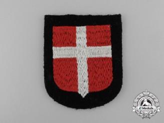 A Waffen-SS Danish Volunteer's Sleeve Shield/Insignia