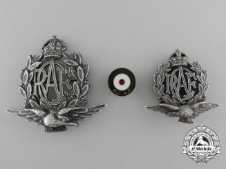 Three Royal Canadian Air Force (RCAF) Badges