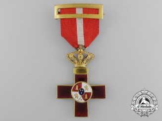 A Spanish Order of Military Merit with Red Distinction, c. 1900