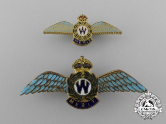 Two Second War Corporate Donations War Effort Badges; Published Examples