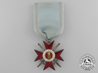 A First War Period Bulgarian Military Order for Bravery; 4th Class