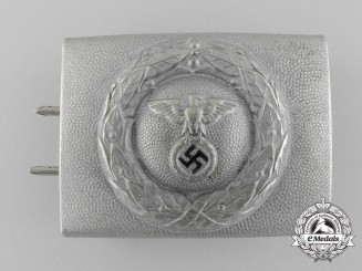 A German DLV/Fliegerschaft NCO Belt Buckle by Assmann & Söhne