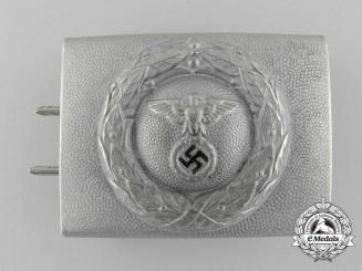 A German DLV/Fliegerschaft NCO Belt Buckle by Assmann & Söhne