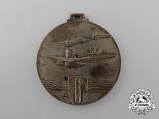 An Italy to Brazil Trans-Atlantic Air Cruise Medal