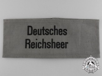 A Deutsches Reichsheer Civilian Aid Identification Armband
