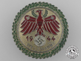 A 1944 Wehrmacht Master Shooting Award