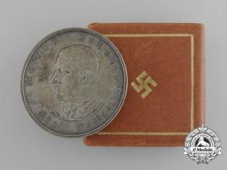 A 1933 A.H. Schicksalwende Medal in Original Case of Issue