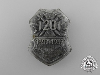 Germany, Third Reich. A 1897-1937 Lindau 40th Anniversary Celebration Badge