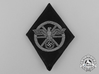 A NSKK Qualified Driver Sleeve Diamond Insignia