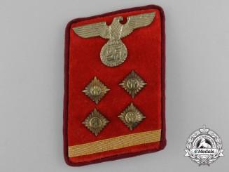 A Single NSDAP Gau Obergemeinschaftsleiter Collar Tab