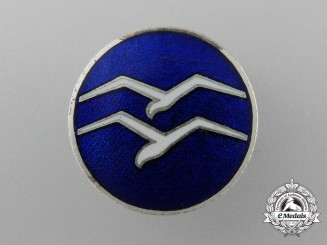 "A Civil Gliding Class ""B"" Proficiency Button-Hole Badge"