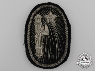 An Italian Fascist Bullion Cap Badge