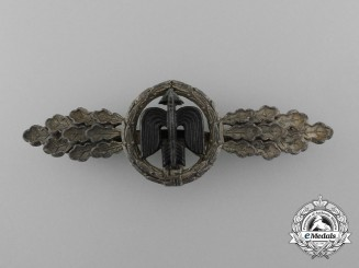 Germany, Luftwaffe. A Short Range Fighter Clasp, Silver Grade, by G.H. Osang