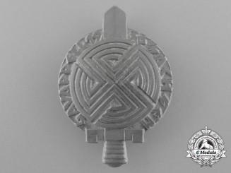 A 1936 Saxony County Appell Badge by Wächtler & Lange