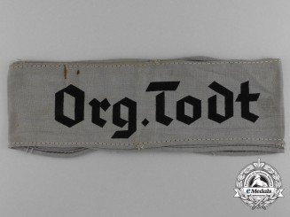 An Organisation Todt Cufftitle for Members