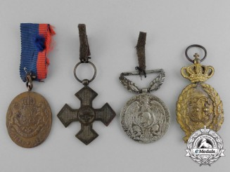 Romania, Kingdom. Four Medals, Awards, and Decorations