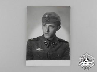 A Rare Second War Ustaša Officer Tankist  Photo