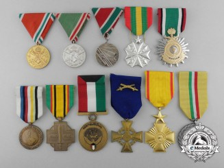 Eleven International Medals & Awards