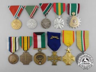 Eleven International Medals & Awards