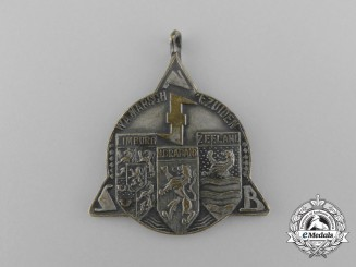A 1942 Dutch National Socialist Movement Medal