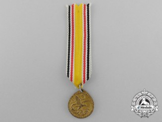 A Miniature German Imperial China Campaign Medal 1900