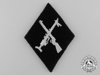 An SS-Armourer NCO's Sleeve Insignia