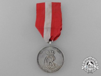 A Danish Army Long Service Medal