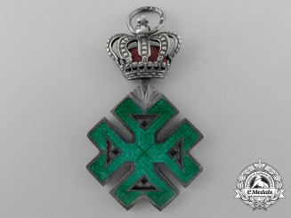 A Romanian Order of Ferdinand I; Knight's Cross