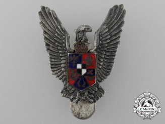 A Second War Romanian Air Force Pilot's Badge (1940-1945)