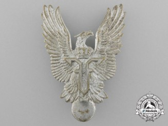 A First War Romanian Air Force Pilot's Badge (Ferdinand I, 1914-1927)