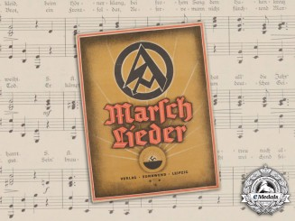 A 1933 SA Marching Songbook/Marschlieder Album