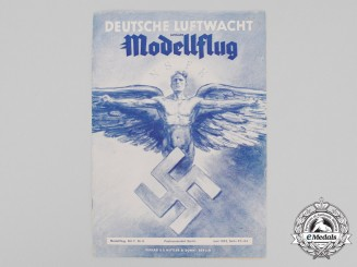 A 1942 NSFK German Air Guard Magazine; Model Aircraft Issue